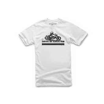 Alpinestars Surfing The Asphalt Short Sleeve T-Shirt in White