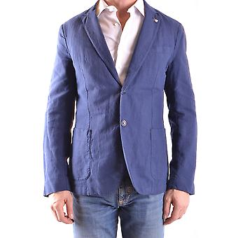 Gant Ezbc144042 Men's Blue Cotton Blazer