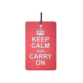 Behåll lugnet och bära på bil luftfräschare