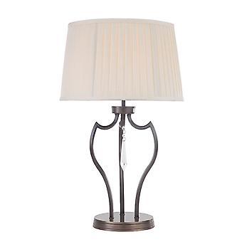 Elstead-1 lâmpada de mesa de luz bronze escuro-PM/TL DB