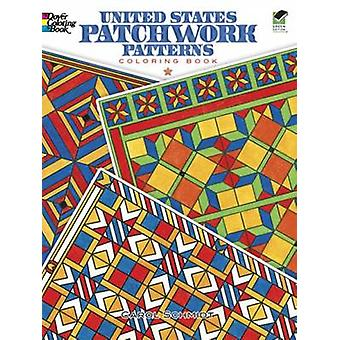 United States Patchwork Patterns Coloring Book by Carol Schmidt - 978