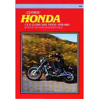 Honda CX500cc - 1978-83 (6th) by Ed Scott - Clymer Publications - 978