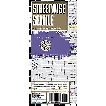Streetwise Seattle Map - Laminated City Center Street Map of Seattle