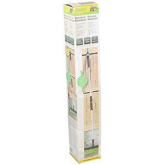 Waterbroom 200x32, 5cm kunststof aluminium groen
