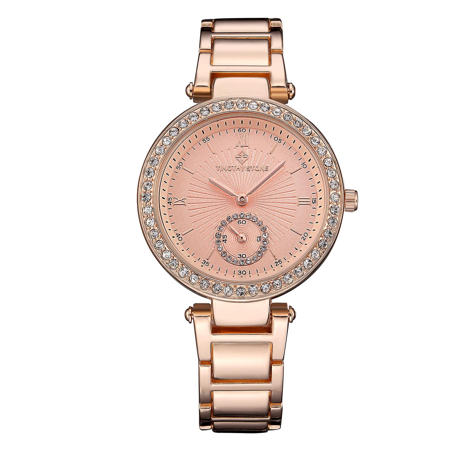 Timothy Stone Women's ELLE-STAINLESS Rose Gold-Tone Watch