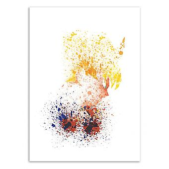 Art-Poster - The Monkey Child - Arian Noveir 50 x 70 cm