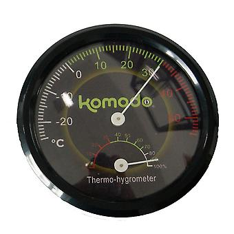 Komodo Combined Analog Thermometer And Hygrometer