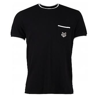 Kenzo Tiger Crest Pique bemanning hals T-shirt