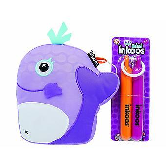 Mini Inkoo Assortment  Whale Purple