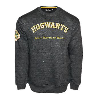 Hp201 licensed unisex harry potter™ hogwarts™ embroidered sweatshirt
