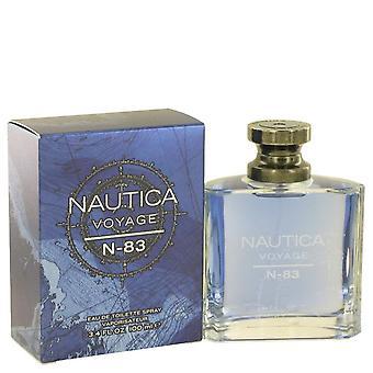 Nautica voyage n 83 eau de toilette spray by nautica 502339 100 ml