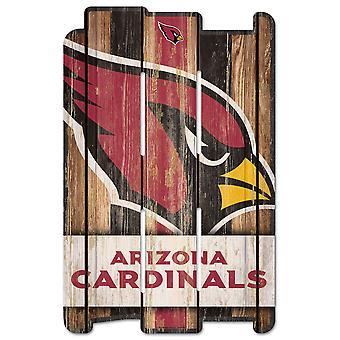 وينكرافت PLANK Holzschild علامة الخشب -- اتحاد كرة القدم الأميركي أريزونا الكاردينالات