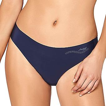 Sloggi Women ZERO Feel Thong, Skyline Blue, Small