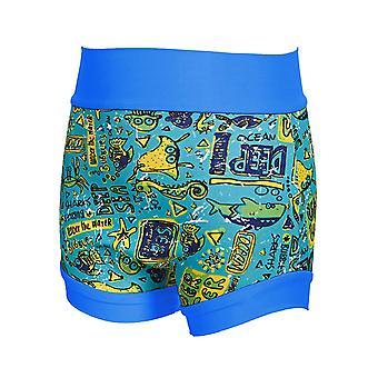 Zoggs Unisex Child Deep Sea Swimsure Nappy Reusable Neoprene Swim Nappy Cover