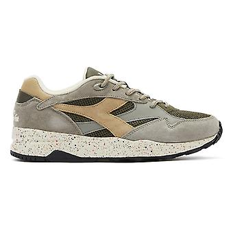 Diadora Eclipse Premium Mens Lace Grey Trainers