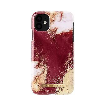 iDeal von Schweden iPhone 11 Shell-Golden Burgund Marmor