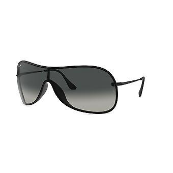 Ray-Ban RB4411 601S11 Demiglos zwart/grijs kleurovergang donker grijze zonnebril