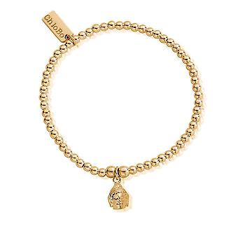 Chlobo Cute Charm Buddha Head Bracelet GBCC601