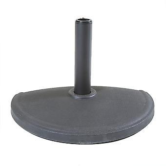 Charles Bentley Beton Regenschirm halbe Basis für halb balddach Regenschirm - dunkelgrau