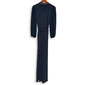 Lisa Rinna Collezione Jumpsuits Jumpsuit Manica Blue Navy A342951
