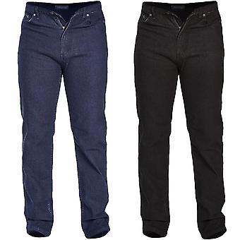 D555 Rockford Mens Carlos Big Tall King Size Casual Stretch Denim Jeans Pants