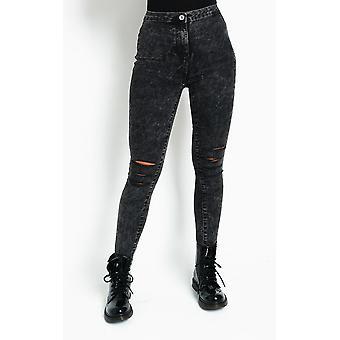 IKRUSH Womens Sky Distressed Skinny Jeans