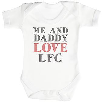 Me & Daddy Text Love LFC Baby Bodysuit / Babygrow