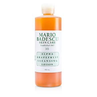 Mario Badescu Alpha Grapefruit Cleansing Lotion - For Combination/ Dry/ Sensitive Skin Types - 472ml/16oz