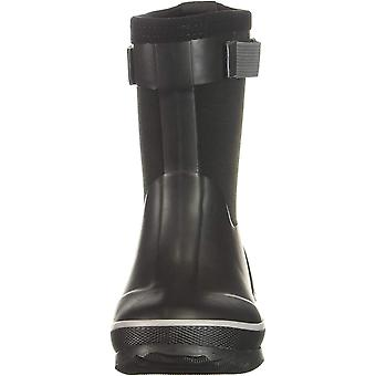 Northside Boys' NEO Rain Boot Black/Gray 6 Medium US Toddler