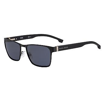 Hugo Boss 1038/S 003/IR Matte Black/Grey Sunglasses