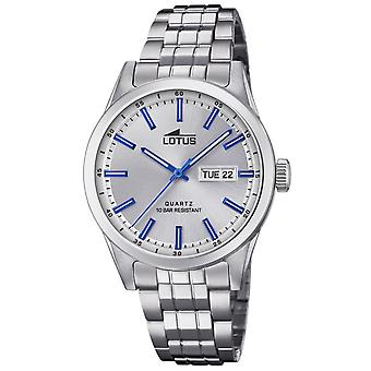 Lotus L18670-2 Watch - CLASSIC Steel Silver Men's Matching Dial