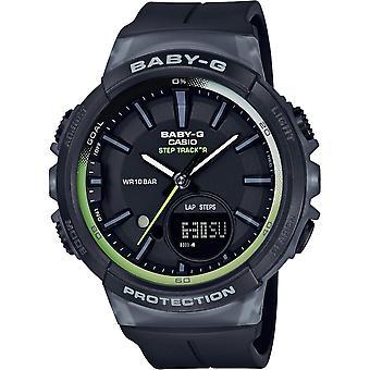 Casio Baby-G BGS-100-1AER watch - klocka multifunktions R sine svart man
