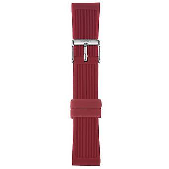 Watch I Am The Watch IAM-311 - Red Steel Loop Bracelet / Large 20 mm