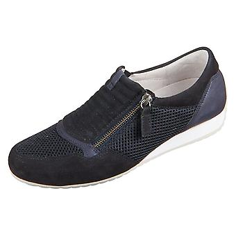 Gabor Rhodos Nightblue Mesh Samchevrau Glitter 8635236 universeel het hele jaar dames schoenen