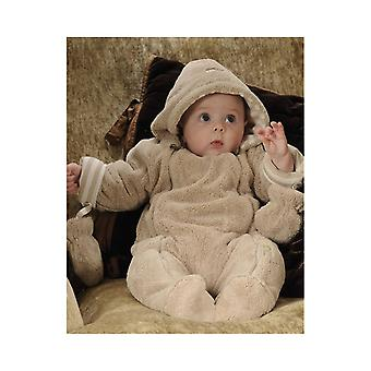 De Essential One Baby Unisex Neutrale Fur Pramsuit