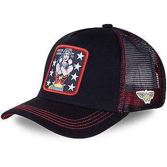 CapsLab Trucker Cap - DC Comics Wonder Woman