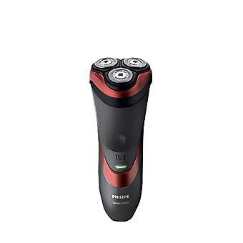 Philips Philips S3580/06-serien 3000 våt og tørr elektrisk trådløs barbermaskin med trimmer