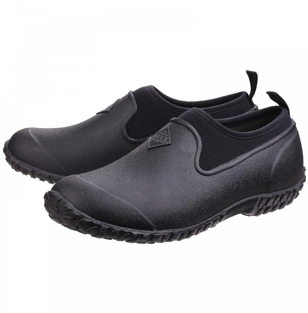 Muck Boots Mens Black Muckster Ii Low All Purpose Lightweight Shoes