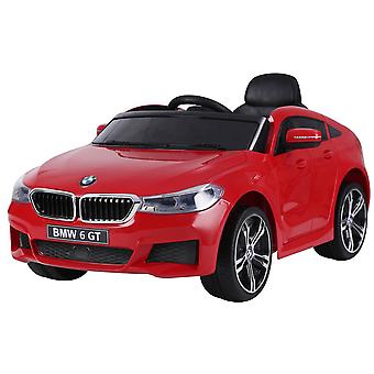 Licensed BMW 6 Series Gran Turismo 12V Electric Ride on Car Red