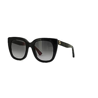 Gucci GG0163S 003 Black/Grey Gradient Sunglasses