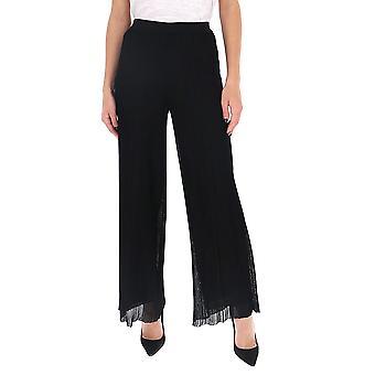 Missoni Mdi00130bk00gq93911 Women's Black Silk Pants