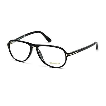 Tom Ford TF5380 001 Shiny Black Glasses