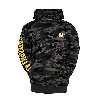 Caterpillar Mens Trademark Banner Hooded Sweatshirt