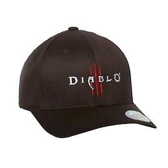 Diablo III Logo Flexfit Hut