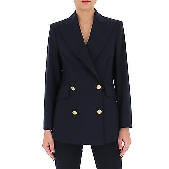 Ballantyne Qlj016uwr9013838 Women's Blue Cotton Blazer