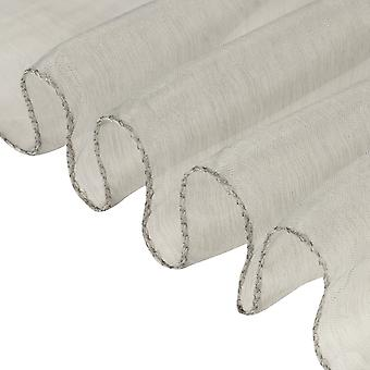 17cm x 274cm Organza Table Runners Wider et Fuller Sashes Argent