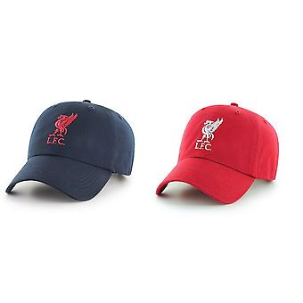 Liverpool FC Adults Official Football Crest Baseball Cap