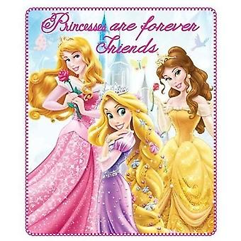 Disney princess blanket fleece 120 x 140 cm