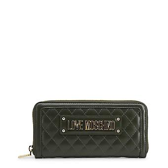 Love Moschino Original Women Fall/Winter Wallet - Green Color 37182