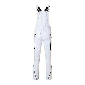 James und Nicholson Unisex Workwear-Hose mit Bib-Level 2